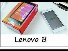 Lenovo B Kompaktes 4 5 Quot Lte Smartphone Im Unboxing