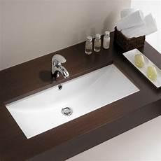 lavabo a encastrer vasque 224 encastrer rectangulaire blanche 75x35 cm lavabo