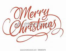 merry christmas script calligraphic type lettering stock vector royalty free 498465475