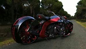 Futuristic Looking Motorcycle  Cool Design Concept