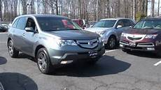 2008 acura mdx sh awd test review youtube