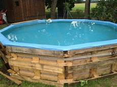 pool selber bauen pool aus paletten selber bauen wichtige tipps und ideen