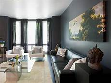 Living Room Home Decor Painting Ideas by Add Drama To Your Home With Moody Colors Hgtv S