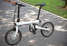 xiaomi s mi qicycle folding electric bike is small but