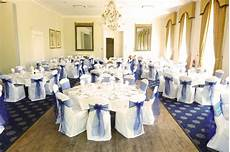 navy blue organza sashes in kent designer chair covers to go