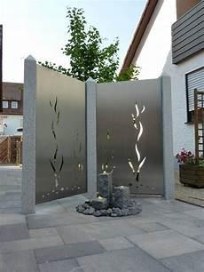 Gartentor Aus Edelstahl - edelstahl sichtschutz garten edelstahl atelier crouse
