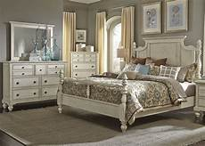 high country white poster bedroom set from liberty 697 br