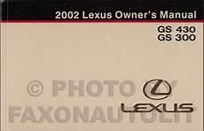 car repair manuals download 2002 lexus gs head up display 2002 lexus gs 300 and gs 430 wiring diagram manual original