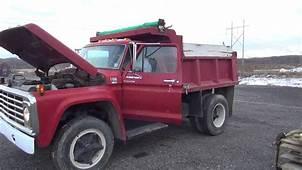 1969 Ford F600 Dump Truck