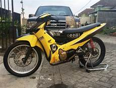 Modifikasi Supra Standar by Modifikasi Supra X 125 Road Race Standard Road Racing