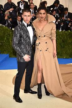 nick jonas priyanka chopra find all the looks from the met gala 2017 here