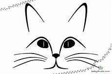 Malvorlage Katzenkopf Einfach Malvorlage Katzenkopf Vorlage
