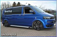 Vw T5 T6 Transporter Logo Side Step Running Board Vanstyle