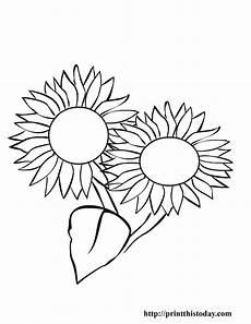 Ausmalbilder Sommerblumen Free Printable Summer Coloring Pages