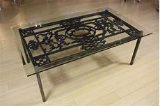 wrought iron coffee tables with glass top wrought iron and glass top coffee table for sale at