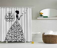 Shower Curtain Dress chandelier butterfly gown dress shower curtain chic