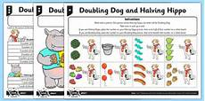 differentiated doubling and halving worksheet worksheet doubling