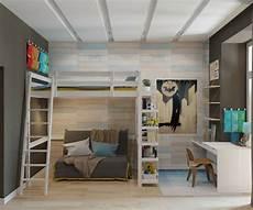 Jugendzimmer Jungen Mit Hochbett - design hochbett f 252 r das moderne kinderzimmer