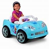 Disney Frozen Convertible Car 6 Volt Battery Powered Ride