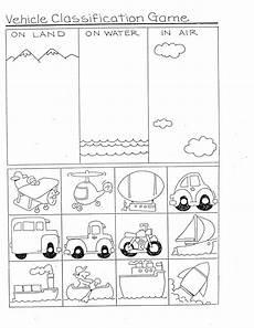 worksheets on vehicles 15217 transportation ideas for math transportation theme preschool transportation worksheet