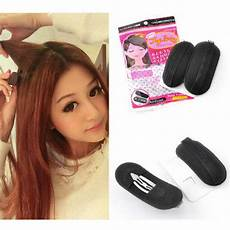 how to use bump it hair accessory 2x bump it up volume hair insert clip back beehive marking