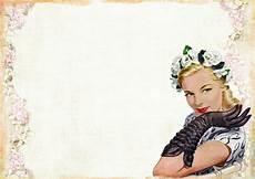 free illustration vintage lady fashion gloves free