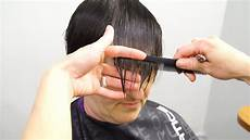 tips cutting fine hair youtube