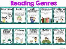 children s books genres list reading genre poster by stickers and staples teachers pay teachers