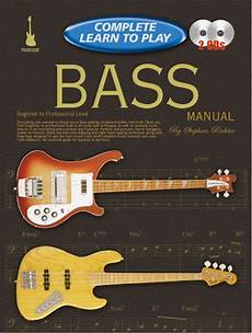 learning how to play the bass guitar progressive complete learn to play bass manual