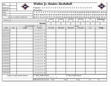 basketball scorebook sheet excel all basketball scores info