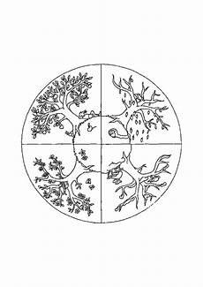 Malvorlage Baum Jahreszeiten Jahreszeiten Baum Malvorlage Tippsvorlage Info