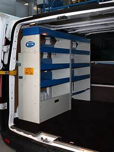 ford transit custom ladefläche shelving solutions for converting the ford custom l1 h1