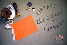 Enveloppes Orange En Velin Pour Invitation Mariage