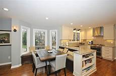 Ideas For Kitchen And Family Room by Admirals Kitchen Living Room Remodel The Corporation