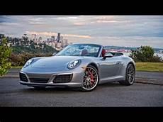 Porsche 911 S Cabrio - 2017 porsche 911 s cabriolet review