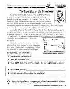 homework worksheets for class 3 15467 scholastic success with reading comprehension grade 3 by