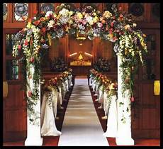 church decorations wishing for the wedding of your