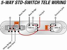 5 way switch mod with quot kill position quot telecaster guitar