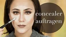 Make Up Richtig Auftragen - concealer auftragen how to concealer make up basics 6