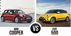 the battle of the quot boxes quot mini cooper vs fiat 500