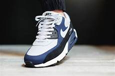 nike air max 90 leather midnight navy sneaker bar detroit