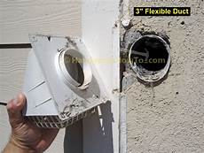 Bathroom Vent Fan Outside by Bathroom Vent Fan Installation Remove The 3 Inch Vent
