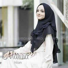 28 Jilbab Instan Sifon Yang Cantik