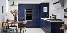 meuble cuisine bleu les meubles bleu encre de la cuisine iconique de lapeyre