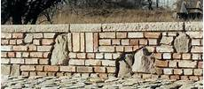 Ruinenbau Kleine Mauer Aus Alten Mauerziegeln 3