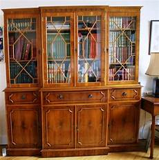 bibliothèque anglaise meuble biblioth 232 que style anglais marway 224 lyon meubles