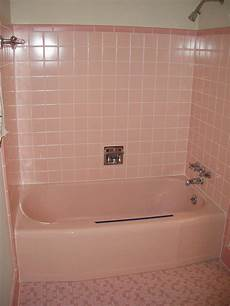 pink tile bathroom ideas a family rebuilds and restores a 1953 kitchen to its