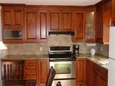 specialit 233 smm armoire de cuisine en merisier teint
