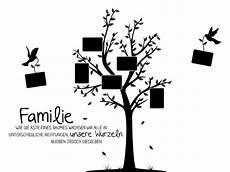 motive familie wandtattoo fotobaum familie mit familienspruch