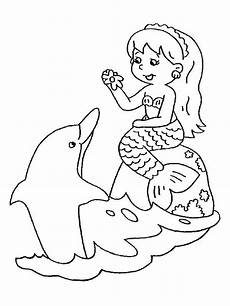Malvorlage Baby Meerjungfrau 20 Of The Best Ideas For Mermaid Colouring Pages Free